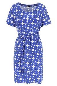 Lily Balou Kleid Taschen cobald blau - Lily Balou