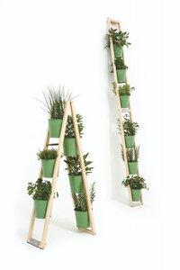 Pflanzen und Kräuterleiter freistehend oder hochgestellt ideal für Kräuter aller Art - Fairwerk Werkstätten
