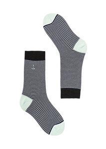 Gestreifte Socken aus Bio Baumwolle bunt   Basic Socks #STRIPES - recolution