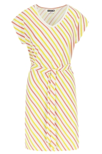 Lily Balou Vneck Kleid Streifen sorbet Eis - Lily Balou