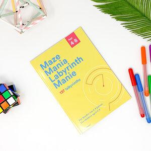 Maze Mania Labyrinth Mania - Spaß und Kompetenzentwicklung - Mitmachbuch Labyrinthe für Kinder 4-8 Jahre - PepMelon