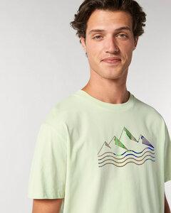 Reine Biobaumwolle- Weiches, angenehmes Shirt / acqua e montagne - Kultgut