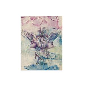 Kunstdruck aus Graspapier A5 - Matabooks