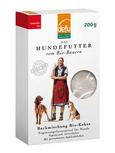 defu Hund Backmischung für Hunde Bio-Kekse - defu - dem Leben verpflichtet