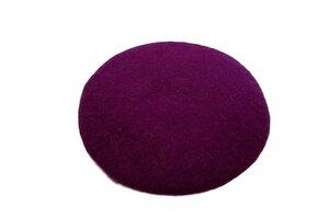 Filzkissen weich gefüllt, bunte Farben, Ø ca. 40 cm - aus fairer Handarbeit - Frida Feeling