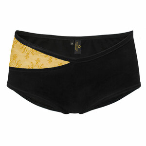 Panty mit weicher, recycelter Spitze - Golden Circle Clothing