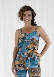Top Hanna, Mimosa - Top Damen aus Bio-Baumwolle - Sophia Schneider-Esleben