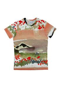Unisex T-Shirt Mio, Mohn - Unisex T-Shirt aus Bio-Baumwolle - Sophia Schneider-Esleben
