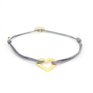 Armband Herz vergoldet - MUNICH JEWELS