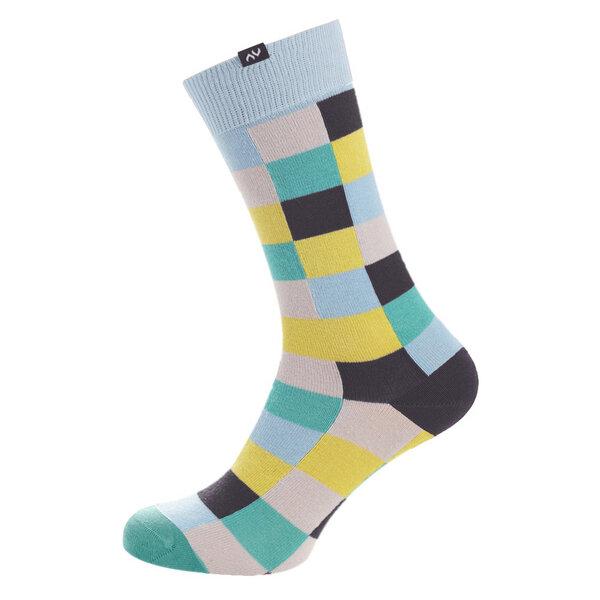 MINGA BERLIN - Pixelate Socken - Cool Skin
