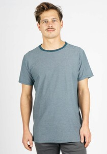Micro Striped T-Shirt - Honesty Rules