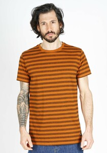 Zig Zag Striped T-Shirt - Honesty Rules