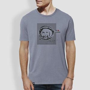 "Herren T-Shirt, ""Juri"", Lava Grey - little kiwi"