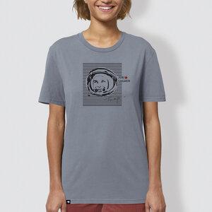 "Damen T-Shirt, ""Juri"", Lava Grey - little kiwi"