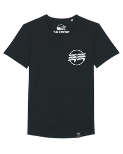 Eco Empire Crewlogo 01 Small | Long Unisex T-Shirt - Eco Empire Clothing