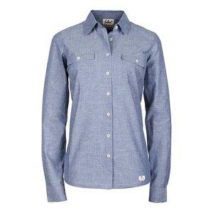 bleed Ladies Oxford Shirt Blue - bleed