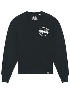 Eco Empire Crewlogo 01 Small | Oversize Unisex Sweatshirt - Eco Empire Clothing