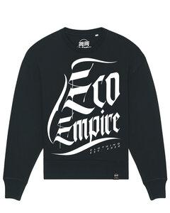 Eco Empire Crewlogo 03 | Oversize Unisex Sweatshirt - Eco Empire Clothing