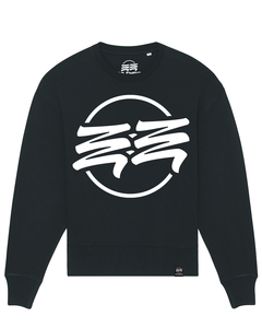Eco Empire Crewlogo 01 Big | Oversize Unisex Sweatshirt - Eco Empire Clothing