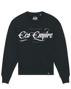 Eco Empire Crewlogo 02 | Oversize Unisex Sweatshirt - Eco Empire Clothing