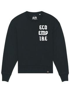 Eco Empire Crewlogo 04 | Oversize Unisex Sweatshirt - Eco Empire Clothing