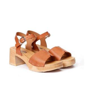 HANNY - Sandalette - SOFTCLOX nur echt mit der biegsamen Holzsohle