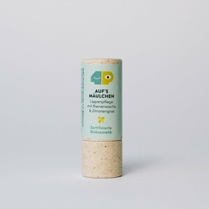 Plastikfreier Lippenbalsam - Auf's Mäulchen (10g) - Biokosmetik - 4peoplewhocare