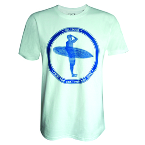 T-Shirt 'Blue Surfer' - SOLIDUDE
