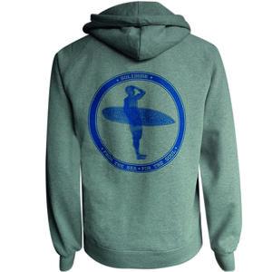 Kapuzenpullover 'Blue Surfer' - SOLIDUDE