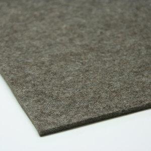 Filzteppich graubraun-meliert 180 x 240 cm von tuchmacherin - tuchmacherin - handgewebtes design + filz
