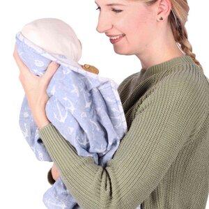 Schmusewolke Babydecke Musselin - SCHMUSEWOLKE