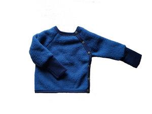 Wollfleece Schlüttli in Nachtblau oder Kurkuma - Ulalü