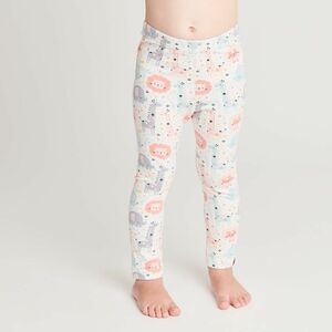 "Leggings ""Mini Jungle Rose"" aus Bio-Baumwolle - Cheeky Apple"