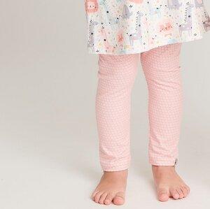 """Leggings """"Kuller Peach Rose"""" aus Bio-Baumwolle - Cheeky Apple"""