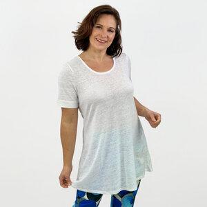A-Shirt Vera aus 100% Leinen - AnRa Mode