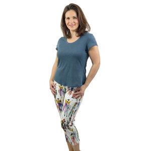 Shirt Vera aus 100% Leinen (Leinen-Jersey) - AnRa Mode