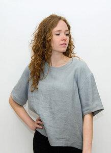 Leinen T-shirt - Fri Organics