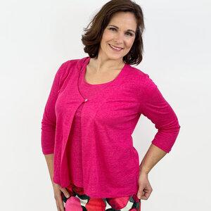 Jacke Vera aus 100% Leinen - AnRa Mode