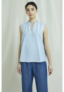 Bluse - Elora Stripe Top - aus Bio-Baumwolle - People Tree