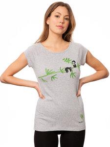 Damen T-Shirt Faultier Bio Fair - FellHerz