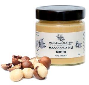 MACADAMIA NUSS BUTTER , natur 180g - Macadamia Nut Farm