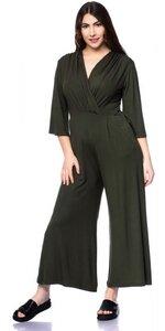 MARIKA Jersey-Jumpsuit (olive) oder nach Farbwunsch aus TENCEL Modal - Ingoria