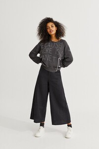 Sweatshirt - Because Sweatshirt Handwritten - ECOALF