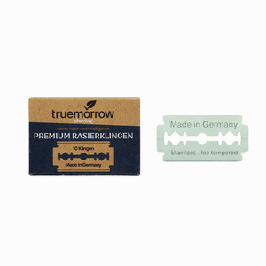 truemorrow Premium Rasierklingen für Rasierhobel (10 Stück) Made in Germany - truemorrow