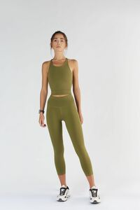 Damen Sport 7/8 Leggings in 4 Farben Bio-Baumwolle Sport Hose T1310 - True North