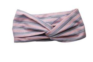 Haarband in Wickeloptik, gemustert - Passepartout