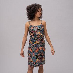 Umstands- und Stillkleid glatt TENCEL & Bio-Baumwolle - stillfashion