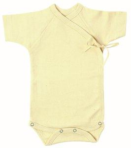 Lotties Baby-Wickelbody natur Bio Baumwolle 50-68 - Lotties