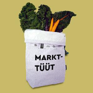 umtüten - Markt-Tüüt - umtüten