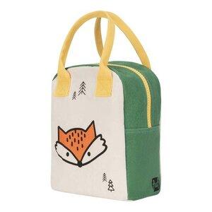 Zipper Lunch Bag - Lunchtasche mit Reißverschluss Fox - Fluf